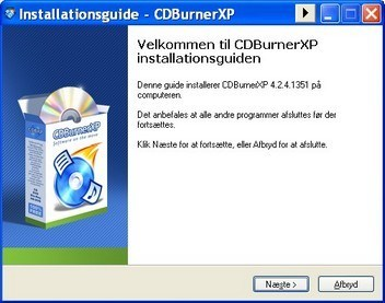 CDBurnerXP gratis for alle