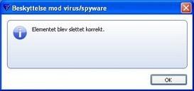 Test dit antivirus program, om det stopper virus/vira fra internettet, også via e-mail