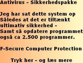 PC Sikkerhed helt i top.