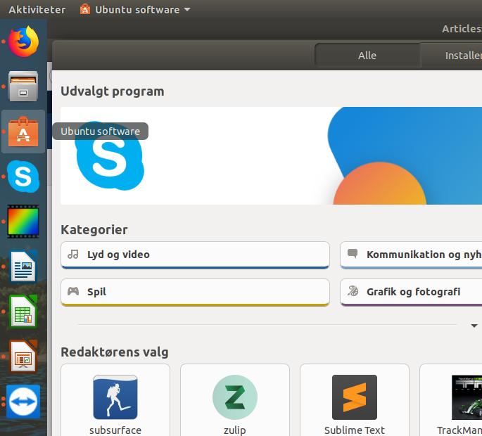 Ubuntu Linux gratis for alle, se hvad du kan